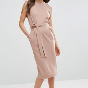 ASOS Belted Midi Dress Size 2 - NWT